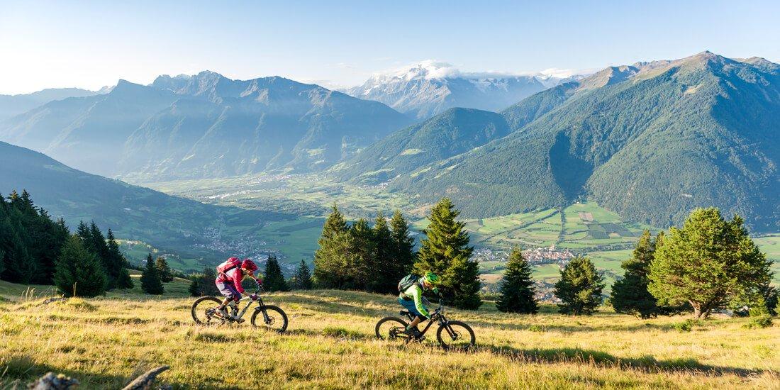 Vacanze in bicicletta in Val Venosta