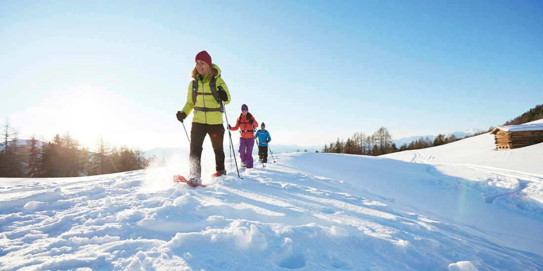 Ciaspolate durante le vacanze d'inverno in Val Venosta