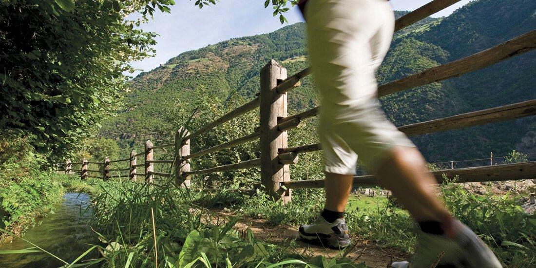Una vacanza escursionistica lungo i Sentieri delle Rogge in Val Venosta